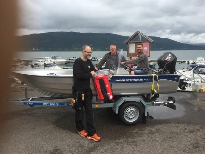 Vinnere båtlotteri 2016